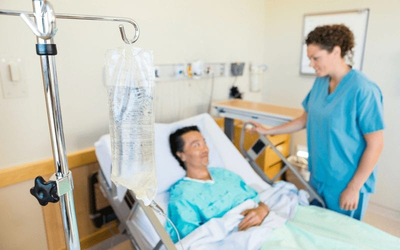 IV line. Practical Nurses are required to prepare an IV line and prime the tubing at the correct drip rate for IV Testing.