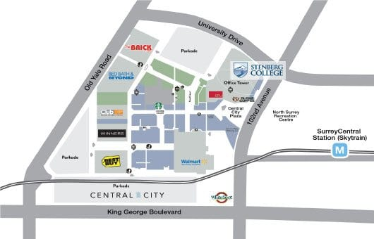 Directions to Stenberg College Main Campus