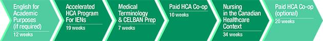 post graduate diploma in canadian nursing pathway