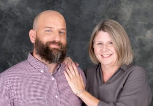 Always together, Deb and Jon now will start a new chapter in their lives as Community Nurses.