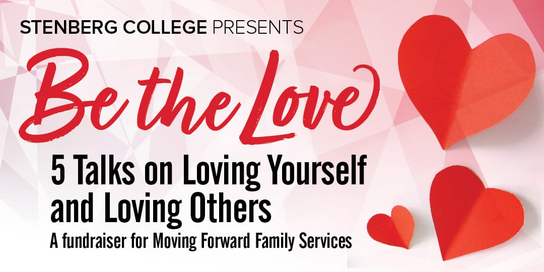 Be the love - 5 talks on Loving Yourself and Loving Others
