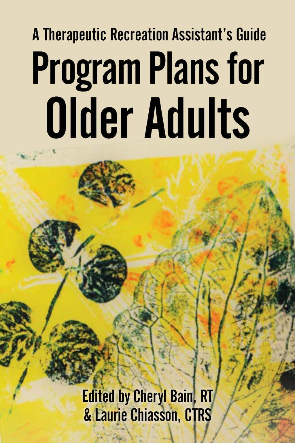 Front Cover of Book - Program Plans for Older Adults