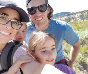 Yalena Bradford, Cardio Tech Grad with her family.